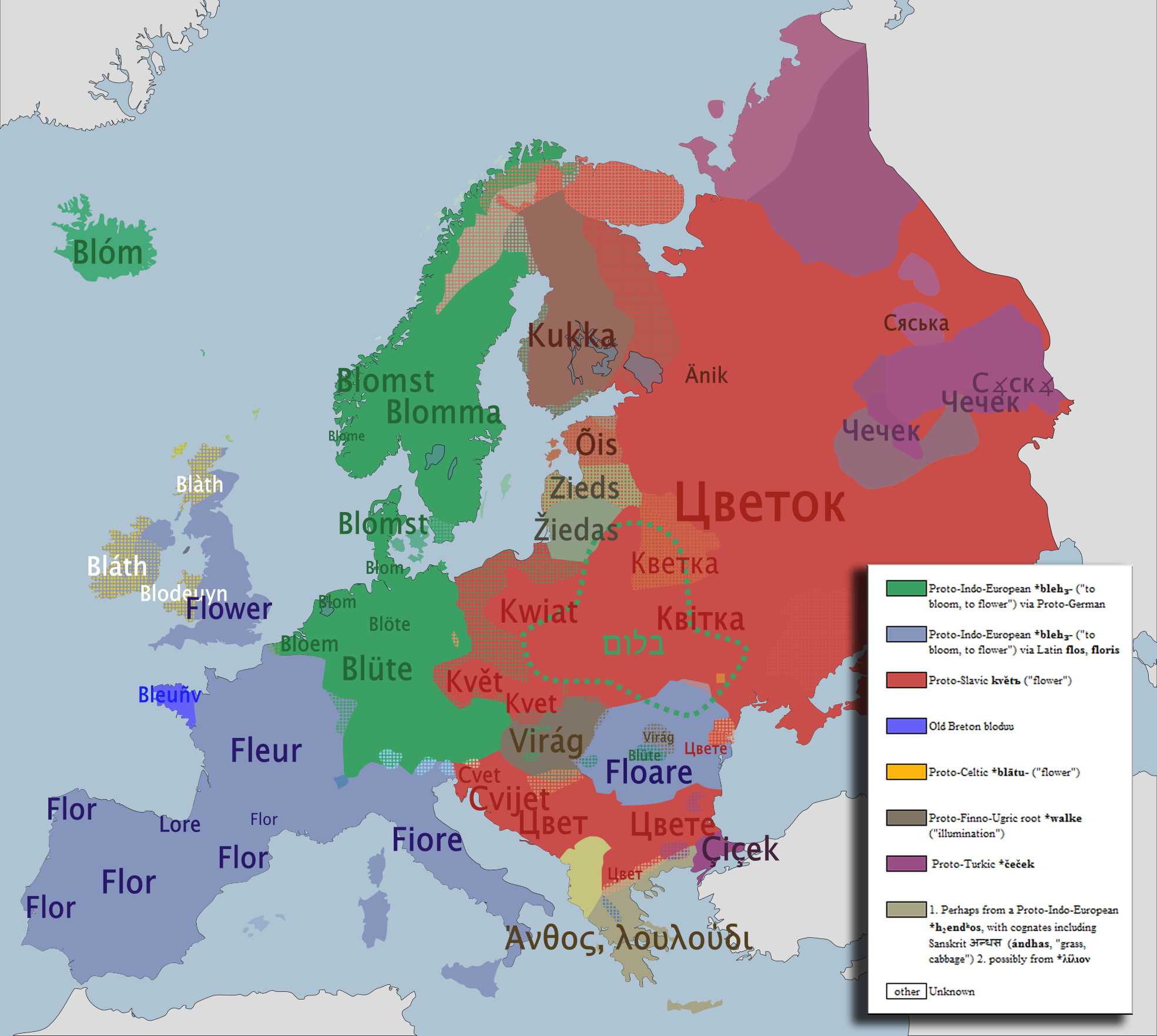 Europe Language Map Linguistic Maps Of Europe | Languages Of Europe