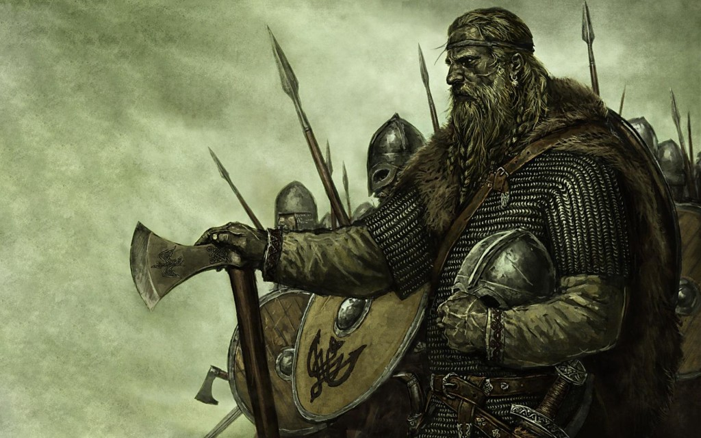 Artistic depiction of a group of Norsemen. Image source: