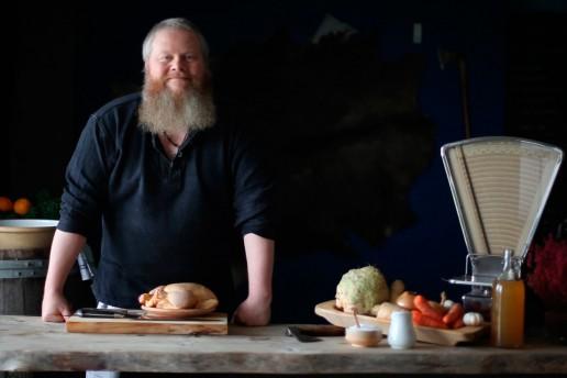 Danish chef Jesper Lynge. Image source: www.digidar.dk
