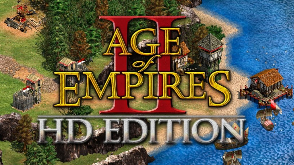 Age of Empires II HD Edition logo. Image source: www.kolkrabba.wordpress.com
