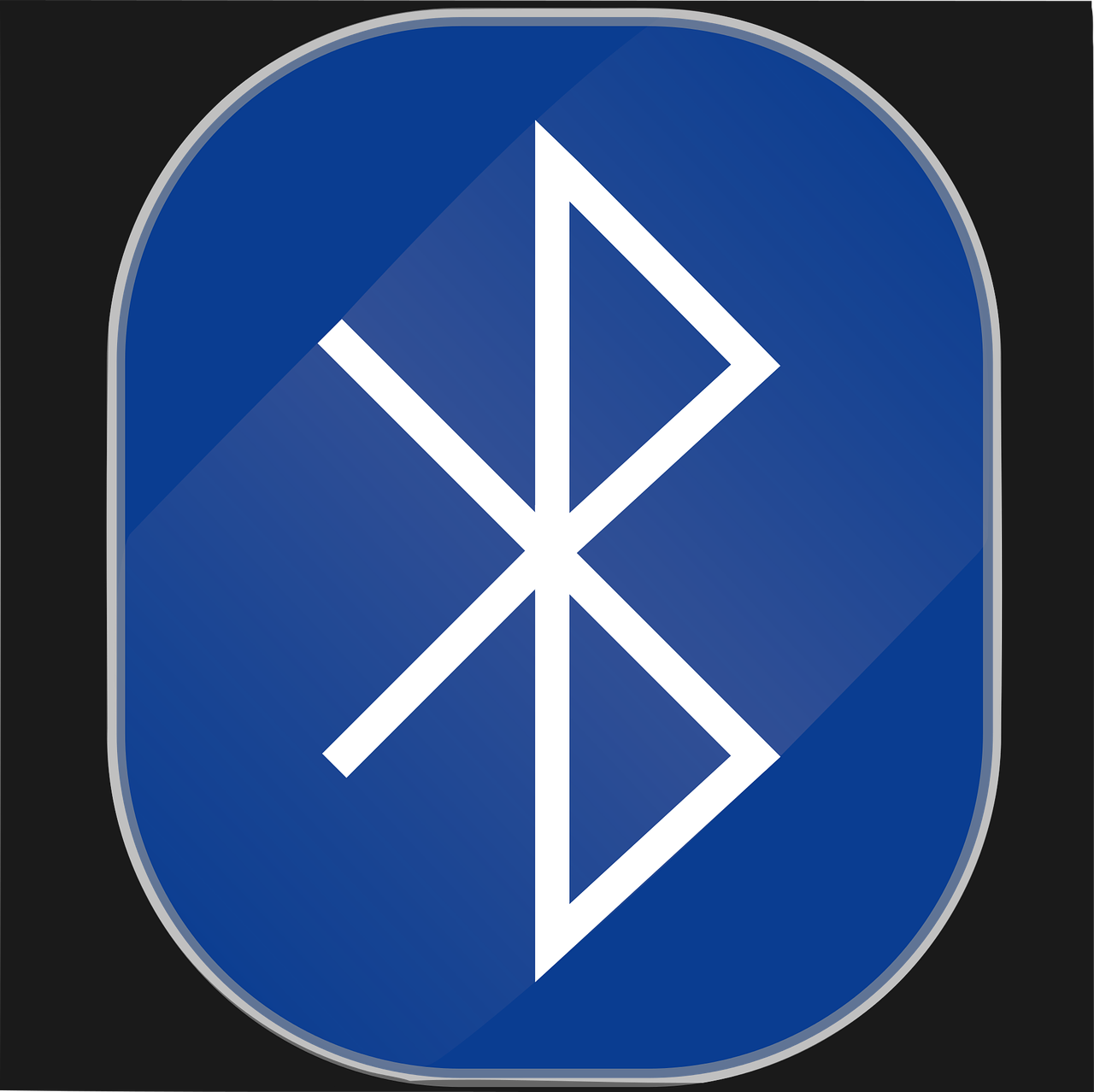 The Bluetooth logo, named after Danish King Harald Bluetooth. Image source: www.pixabay.com