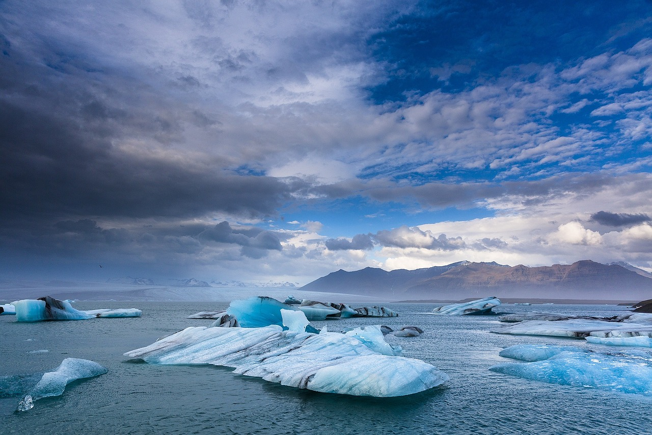 Glaciers from Iceland