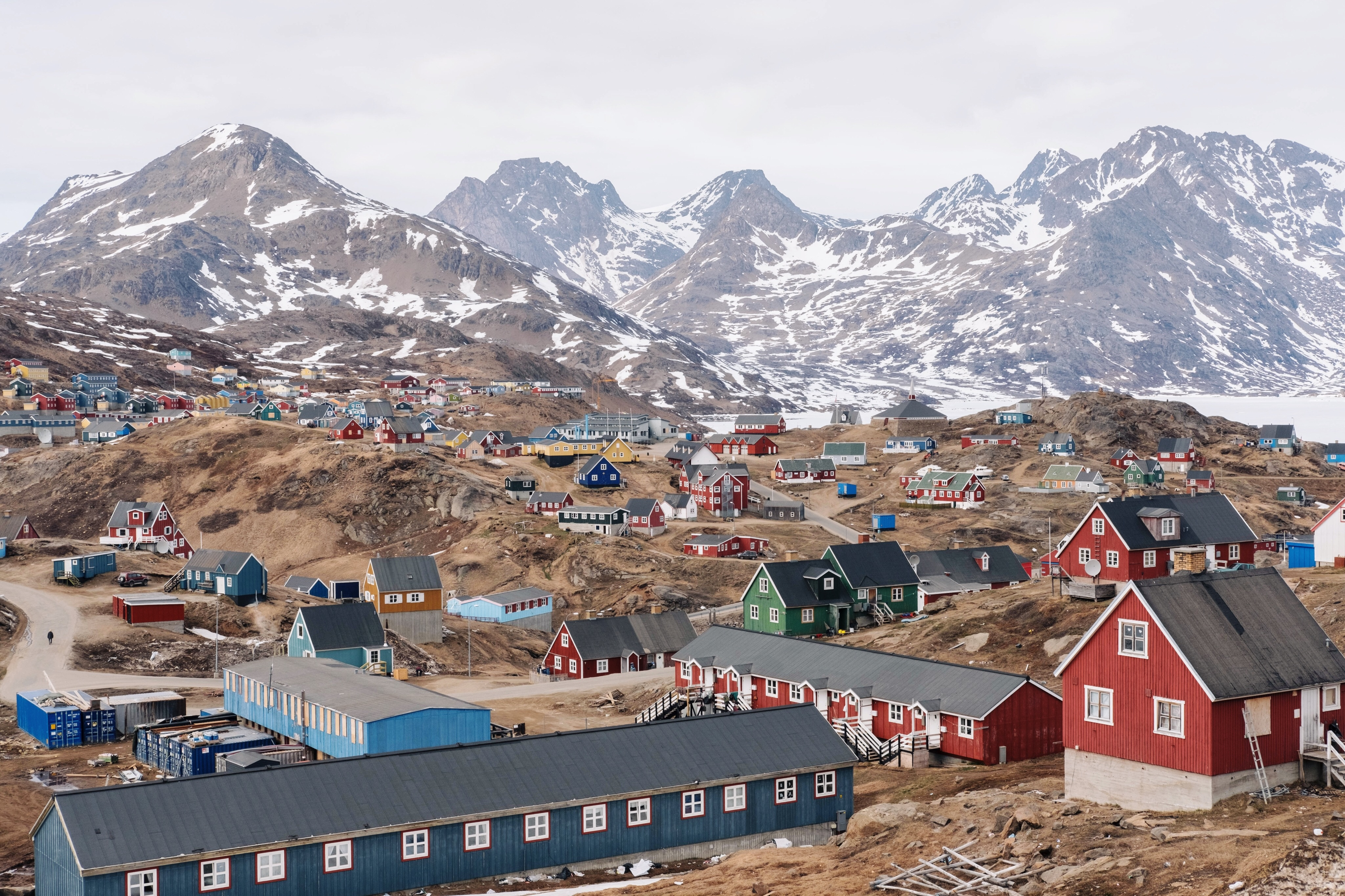 Why greenland is not that green and iceland not that icy - The tiny house village a miniature settlement ...